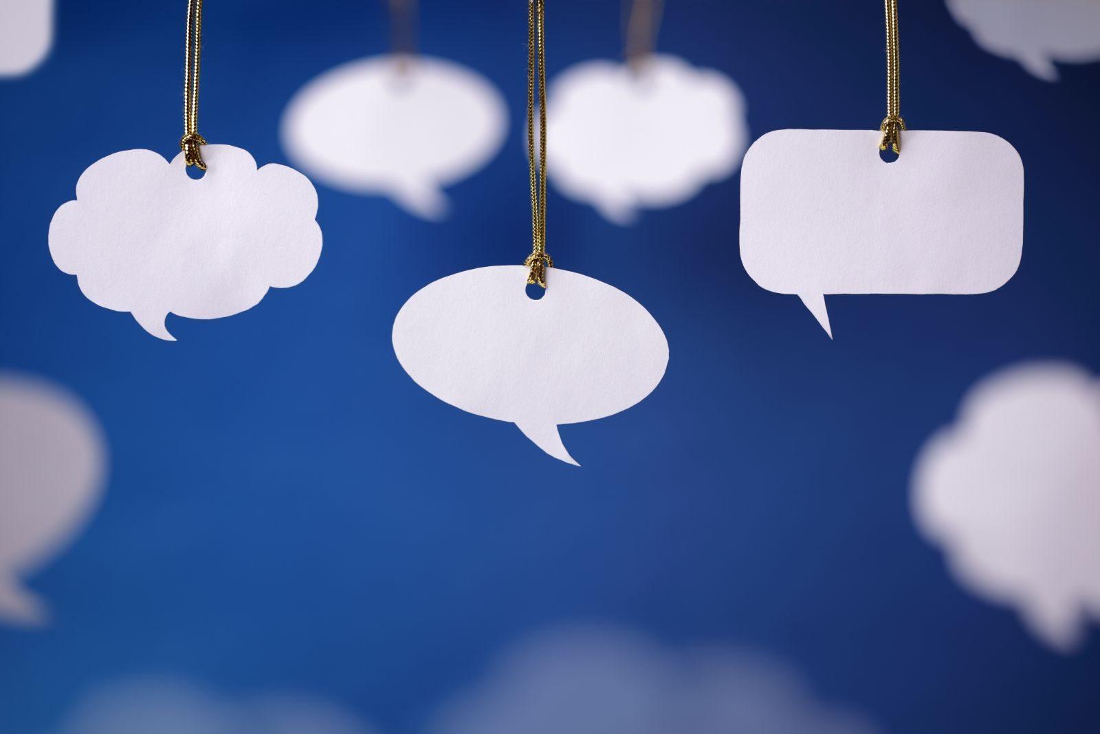 News Items Speech bubbles