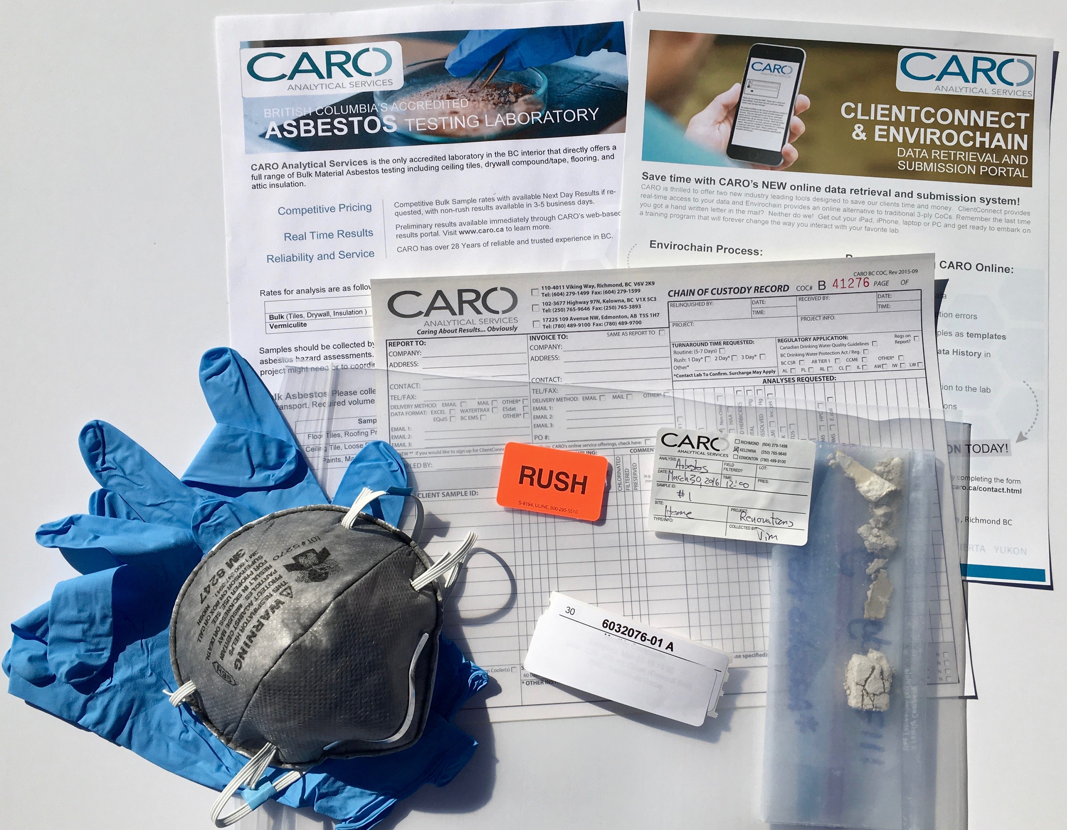 Asbestos Test Kit | CARO.ca
