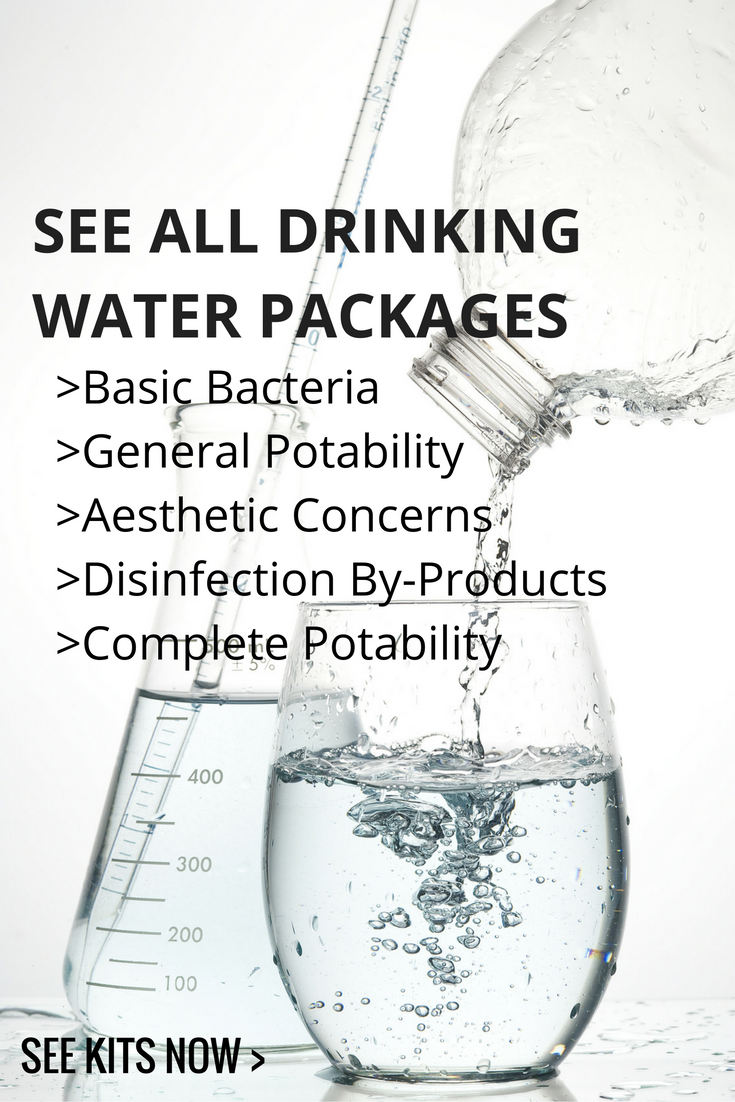 All CARO drinking water test packages