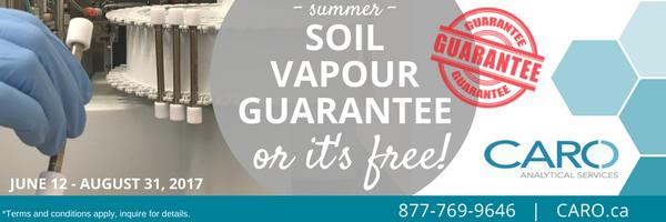 soil vapour guarantee CARO
