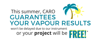 Soil Vapour Guarantee (5) CARO promise summer 2017