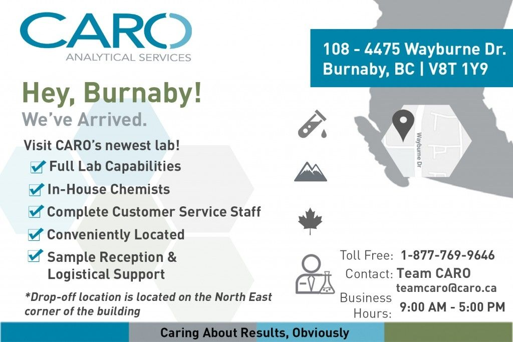 Burnaby Office Laboratory CARO